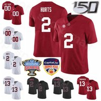 Bay Çocuk Kadınlar NCAA Kolej Alabama Crimson Tide 10 Jerry Jeudy Jersey Futbol 2 Jalen Tua Tagovailoa Henry Ruggs III Damien Harris Hurts