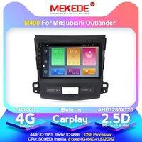 안드로이드 10.0 도착! Mekede 자동차 멀티미디어 플레이어 Mitsubishi Outlander XL 2 내장 Carplay DSP IPS 4G 네트워크 자동차 DVD