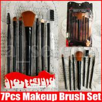 ماكياج فرش أدوات ماكياج أدوات الزينة مجموعة مستحضرات التجميل فرشاة مجموعة مستحضرات التجميل فرشاة مؤسسة مهنية 7 PCS