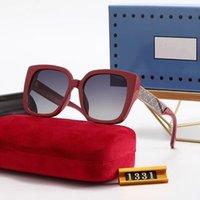 Diseñador de moda Gafas de sol 888 Clásico Retro Piloto Plegable Lente de cristal UV400 Protection Eyewear con caja de cuero