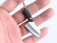 Kreative Mini Küchenmesser Keychain Bequeme Leben Kleine Werkzeuge Schlüsselanhänger Auto Zubehör Beste Geschenk Hohe Qualität Heißer Verkauf 2020