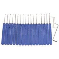 18 en 1 Verrouillage en acier inoxydable Kit de serrure Serrures de serrure Outils de porte rapide Openner de porte rapide