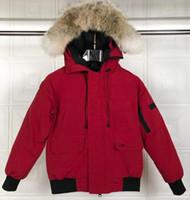 2019 Yeni Ariival! C8ANADA Üst Marka erkek Wyndham Aşağı Parka Kış Ceket Arctic Parka Donanma Siyah Yeşil Kırmızı Açık Hoodies Nakliye