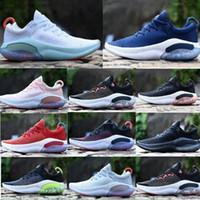 2020 Nuevo Joyride Run FK Mens para mujer Zapatillas para mujer Triple Black White Platinum Racer Blue Deportes Sports Sneakers Tamaño Utilitario 36-45