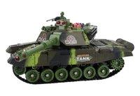 Uzaktan Kumanda Tankı Modeli Araç Şarj ve Mücadele Cross-Country Track Boy Oyuncak Trompet