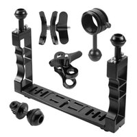 Diving Camera Housing Handle Tray Grip Bracket Kit Handheld ...