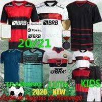 Thai 20/21 Flamengo Soccer Jersey E.Ribeiro Diego Vinicius Jr 110th Jerseys Gerson Gabriel Vitalho B. Henrique Football Homme Chemise