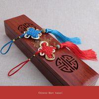 10 unids multicolor chino nudo tassel pendientes de bricolaje accesorios de joyería casera cortina textil ropa de costura macrame decoración colgante h jlldec
