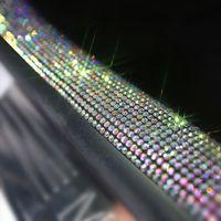 Pegatina decorativa del coche Strip Rasguño Protección resistente a los bordes Adhesivo multifunción Pegatinas de protección para el tronco de la puerta Parachoques