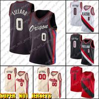 Portland Trail Blazers Damian Blazer Lillard Jersey di sentieriJersey Carmelo 00 Anthony Jerseys Basketch CityEdizioneJersey AS6FD.