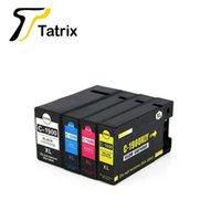 Mürekkep Kartuşları Tatrix PGI-1900XL PGI1900 C-1900 Canon için Renk Uyumlu Yazıcı Kartuşu MB2390 Maxify