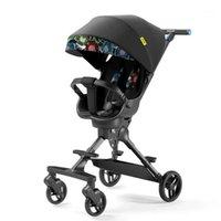 Arabalar # Çocuk Puset Taşınabilir 1-6 Yaşında Bebek Arabası Arabası Hafif Yüksek Peyzaj Şemsiye Katlanır Pram 1