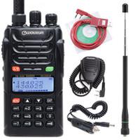 Walkie Talkie Original Wouxun KG-UVD1P المزدوج الفرقة اتجاهين راديو مع بطارية 1700mAh FM الإرسال والاستقبال UVD1P UHF VHF