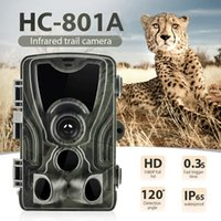 في الهواء الطلق HC801A الصيد درب الكاميرا الكاميرا الحياة البرية مع الرؤية الليلية الحركة المنشط في الهواء الطلق درب الكاميرا الزناد الحياة البرية الكشافة
