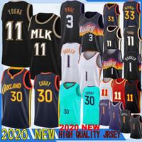 Stephen Curry 30 para hombre Jersey Klay Thompson 11 NCAA Nueva jerseys del baloncesto Draymond 23 estilo verde de calidad superior cosido jerseys