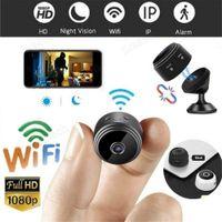 1080P A9 Mini Full-HD-CCTV-Kamera WiFi drahtlose Aktion Smart Home Überwachungskamera P2P Micro Camcorder Videorekorder Fern Casa Inteligent