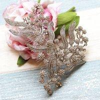 Bridesmaid Pettine Donne lascia accessori per copricapo gioielli da sposa gioielli da sposa pezzo capelli Y200409