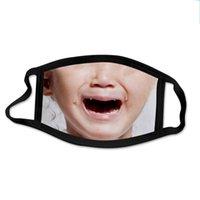 Máscara para perros de animales 3D impresa divertida cara de cara con máscara de cara de gato escudo de cara de moda lavada máscaras a prueba de polvo reutilizables para hombres y mujeres 15 J2