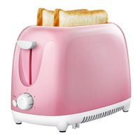 2 Slic- es Stainless Steel Automatic Toaster Quick Heating Br...
