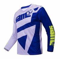 YIBIMOTTO Yeni Off-Road Uzun kollu Yarış Hız Teslim T-Shirt Erkek Motosiklet Polyester Hızlı Kurutma Takım Özelleştirilebilir