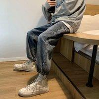 Jeans uomini autunno e inverno allentati leggings coreano