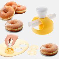 Cibo Cookie Cake Donut Stampo Cucina Dolci Dolci Bread Patisserie Panetteria Forniture da forno Tagliampo FAI DA TE Stencil Donut Maker Stampo