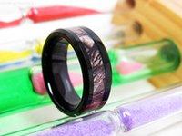 Ювелирные изделия 8 мм Black Camo Мода Вольфрамовый карбид пальцем для мужчин
