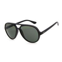 الأزياء النظارات الشمسية الرجال النساء مصمم plank الإطار 5000 مرآة uv400 عدسات ريتروس القطط نظارات 4125 نظارات الشمس مع الحالات