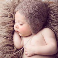 Newborn Photography реквизит детское фото реквизит мохейр детская шляпа вязаная шапка1