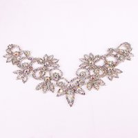 2020Handmade sew- on necklace adornment for Wedding Dress Ski...