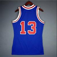 Benutzerdefinierte 604 Jugendfrauen Vintage Wilt Chamberlain Mitchell Ness 66 67 College Basketball Jersey Größe S-4XL oder benutzerdefinierte Name oder Nummer Jersey