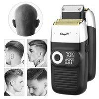 Coupeurs de cheveux Shaver Professional Shaver Nettoyage Rasage Shaper Feuille Électrique Tête électrique Machine rotative Razor pour Men1