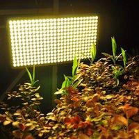 Livraison rapide 300W Square Spectrum complet LED Grow Lights Haute Qualité Blanc Blanc Pas de bruit PLANGER LUMIÈRE BIGE D'ÉCLILLAGE CE FCC ROHS