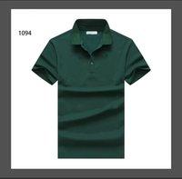 2021 Neue Sommer Freizeit Reine Baumwolle Rundhals Show Soziditude Blau T-Shirt für Außenhandelsnummer Kurzarm T-Shirt Männer Kleid Hemd
