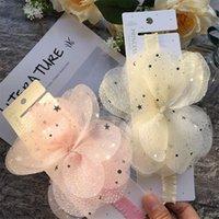 Wecute Pink Butterfly Fairy Fair Band Newborn Baby Girl Headband младенческий малыш фотография реквизит рождения подарок для детей1