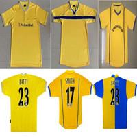 96 97 98 99 00 01 02 Vintage Retro Leeds Birleşik Futbol Formaları Lufc Klasik Futbol Gömlek Ev Beyaz 78 Adam Futbol Tops