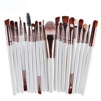 Pennelli per il trucco MAGE 20PCS Strumenti Set Set Cosmetici Polvere Eye Foundation Blush Blush Blacking Beauty Make up Brush Maquiagem L612