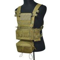 Giacche da caccia Tactical Chest Rig Gilet 3 Combat Molle Army Magazzino Magazzino Gear Gear Outdoor CS Wargame Escursioni