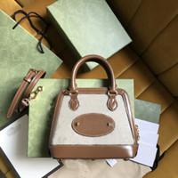 최고 품질 Womens horsebit 1955 작은 어깨 가방 가방 핸드백 미니 지갑 메신저 가방 지갑 상자와 체인 새