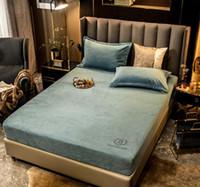 Lettiere da letto queen size forniture per le lenzuola Tenere calda copriletto