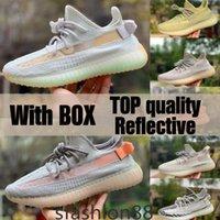 Nueva calidad superior 2021 zapatos para hombre para hombre Las mejores zapatillas deportivas de zapatillas de deporte desierto Sabia estática Earth Zyon Tail Tail Light Cincillo con caja