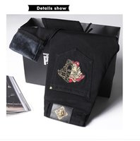 Fashion Designer Shirts Men' s Jeans Slim Men' s Pan...
