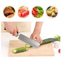 Chef-Messer-Edelstahl-Damaskus-Messer Holzgriff Slicing Messer Frucht-Gemüse-Fleisch Sharp Cleaver Messer Küchenhelfer DH1480