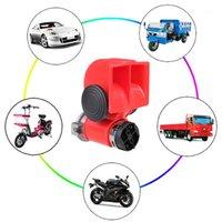 سرقة حماية دراجة نارية الحلزون القرن مضخة الهواء إنذار مدمجة سيارة شاحنة فان سيارة قارب الدراجة مكبر الصوت 12V 136DB1