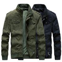Мужская зимнее пальто Slim Fit Colume Куртка Стенд Воротник Повседневная Сафари Стиль Пальто на молнии Маленькие Куртки Молодые Люди Большой Размер T65
