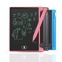 4,4-Zoll-tragbare Mini-neutrale englische LCD-Handwriting-Karte für Kinderzeichnung Graffiti-Nachricht schreiben Zeichenbrett