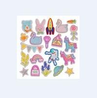 Vêtements Ecussons Brodé Chapeau personnalisé Pastes Badge Pantalon pantalon autocollants Porte-monnaie Sacs étoile patchs pour manteau de veste Correctifs bricolage