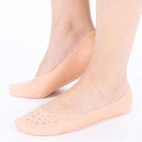 10 paia del silicone del gel protettore tallone piedi piede della protezione morbido cuscino cura delle calzature Insert sottopiede del rilievo accessori scarpe solette per scarpe Silic