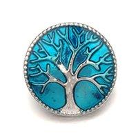 Новое поступление NOOSA 18 мм привязки кнопки застежьте прируги монеты круглое узор дерева Fit Snap браслеты ожерелье кольцо серьги DIY имбирь нажатие кнопки Uwe9x