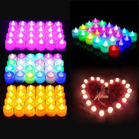 Birthday Candles Lights Creative LED Light Party Decorative Lights Love Candle Lamp Romantic Outdoor Decoration Candle